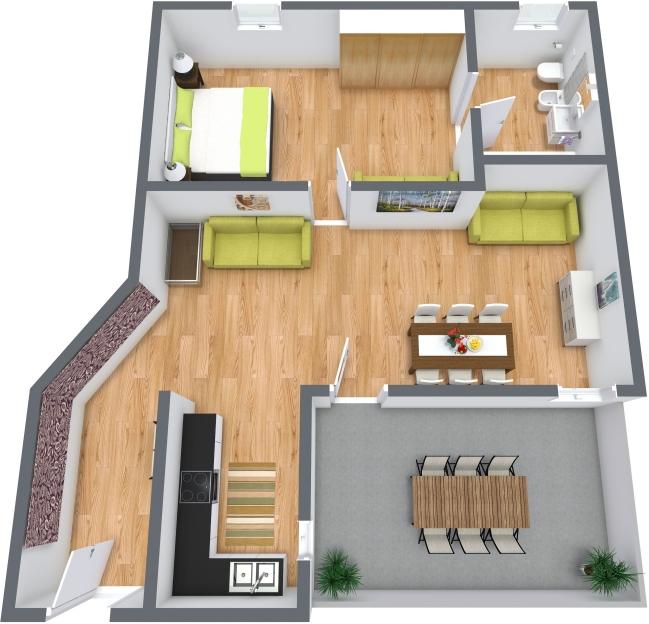Planimetría Apartamento N.383