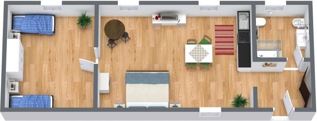Planimetría Apartamento N.386