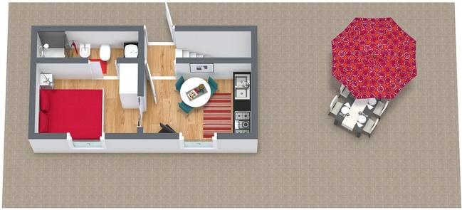 Planimetría Apartamento N.87