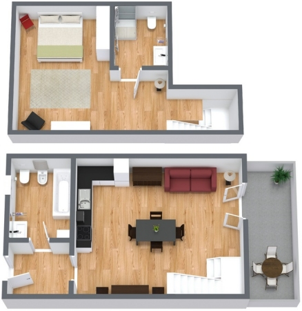 Planimetría Apartamento N.96