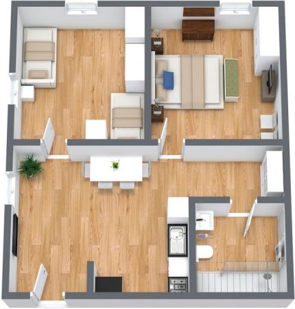 Planimetría Apartamento N.108
