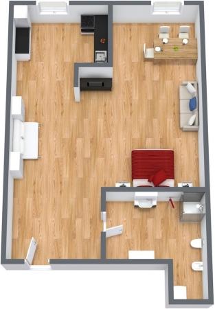 Planimetría Apartamento N.111