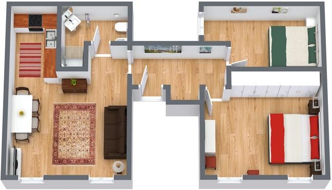 Planimetría Apartamento N.113