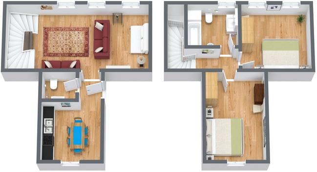 Planimetría Apartamento N.115