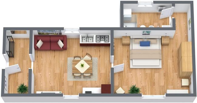 Planimetría Apartamento N.120