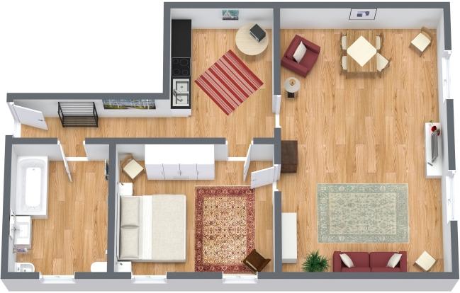 Planimetría Apartamento N.121