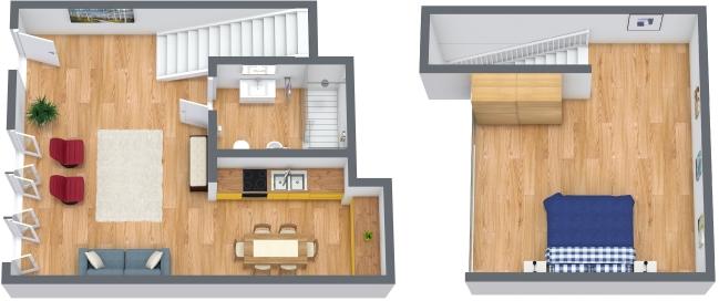 Planimetría Apartamento N.122