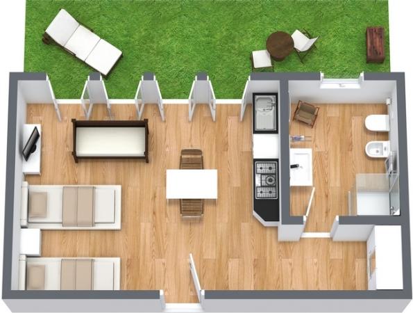 Planimetría Apartamento N.13