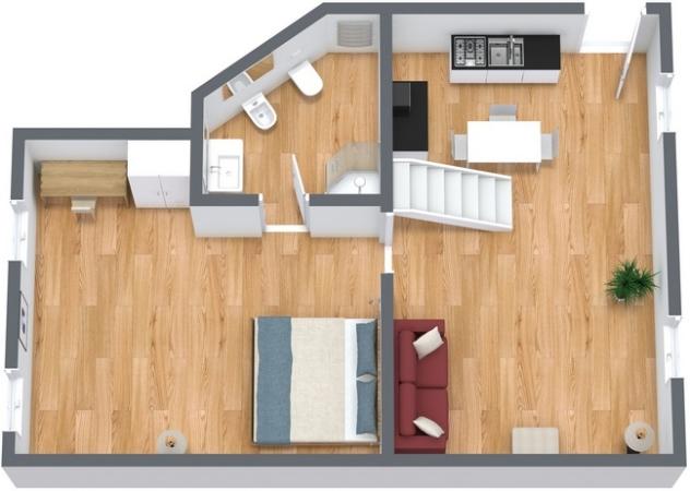 Planimetría Apartamento N.133