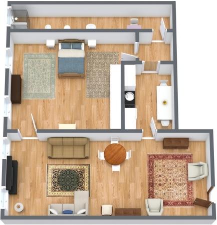 Planimetría Apartamento N.135