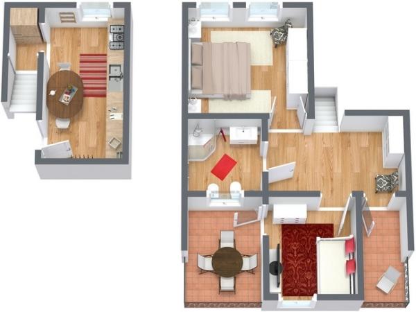 Planimetría Apartamento N.138