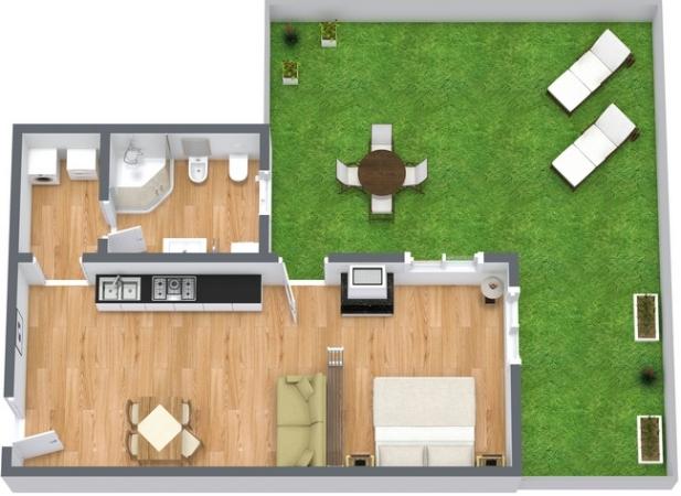Planimetría Apartamento N.14