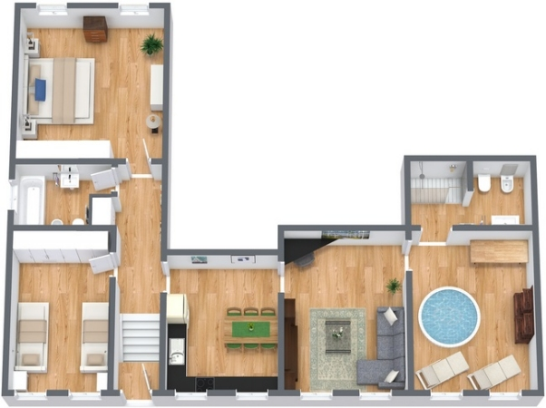 Planimetría Apartamento N.141