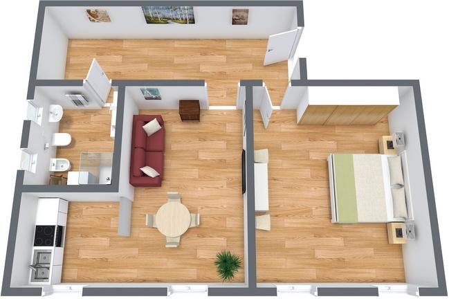 Planimetría Apartamento N.144