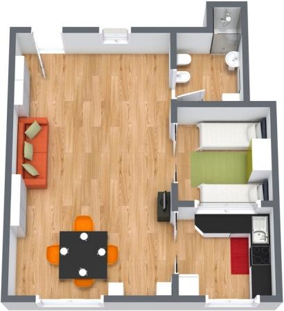 Planimetría Apartamento N.146