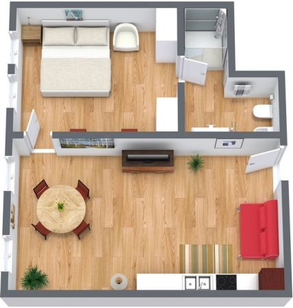 Planimetría Apartamento N.156