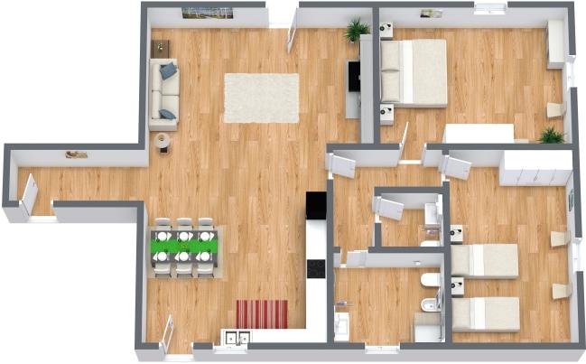 Planimetría Apartamento N.157
