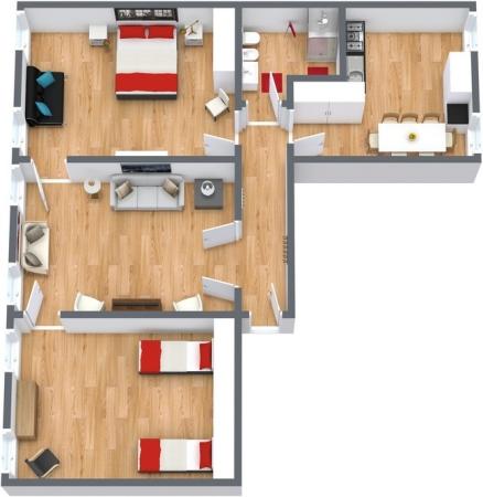Planimetría Apartamento N.161