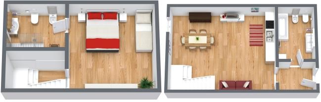 Planimetría Apartamento N.166