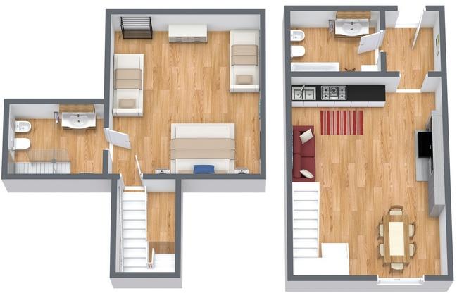 Planimetría Apartamento N.167