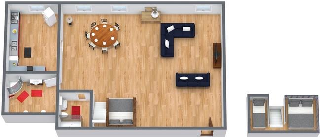 Planimetría Apartamento N.168