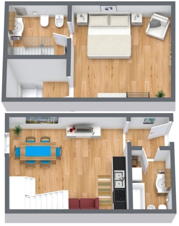Planimetría Apartamento N.169