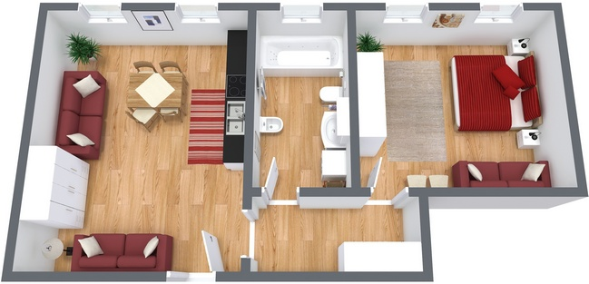 Planimetría Apartamento N.17