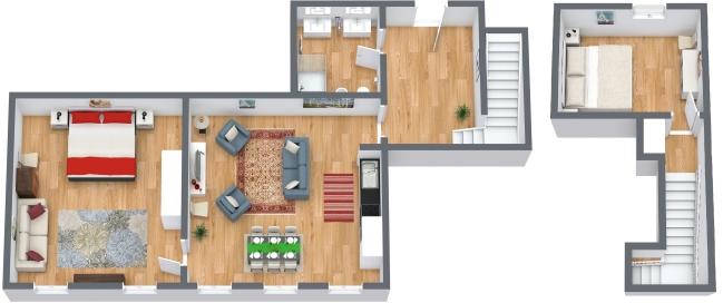 Planimetría Apartamento N.170