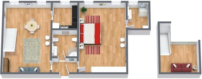 Planimetría Apartamento N.174