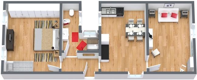 Planimetría Apartamento N.175