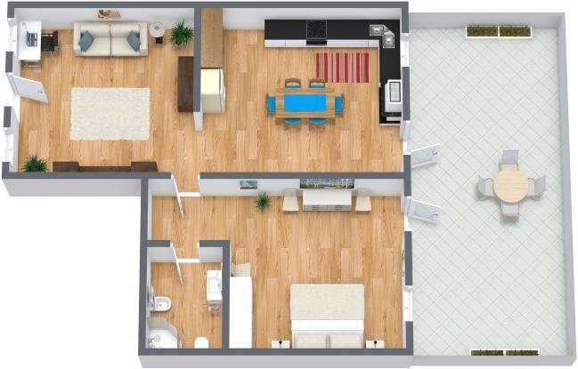 Planimetría Apartamento N.178