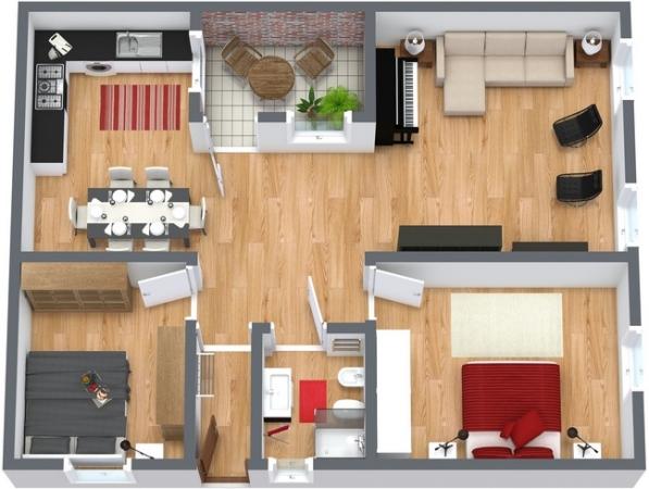 Planimetría Apartamento N.181