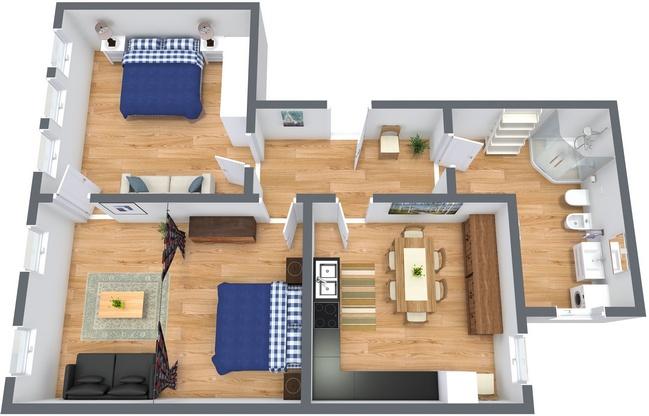 Planimetría Apartamento N.188