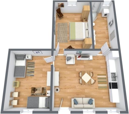 Planimetría Apartamento N.189