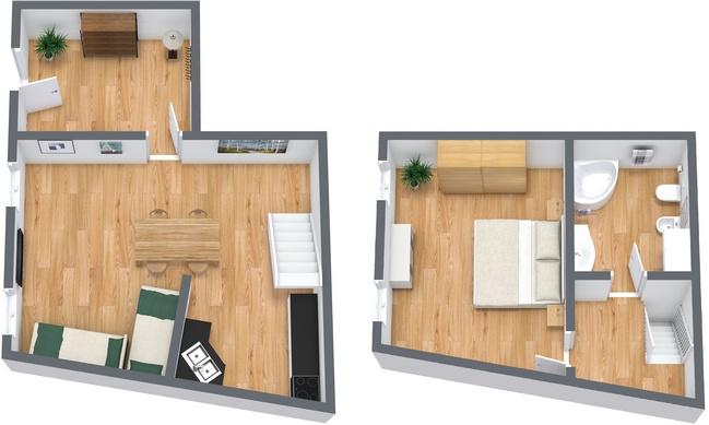 Planimetría Apartamento N.19