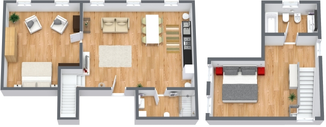 Planimetría Apartamento N.191