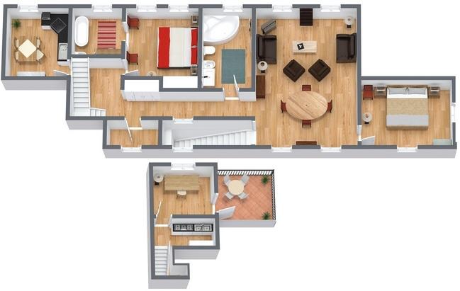 Planimetría Apartamento N.192
