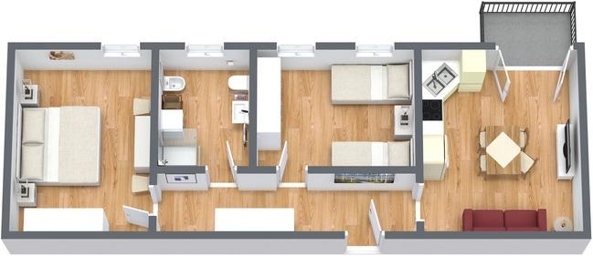 Planimetría Apartamento N.194