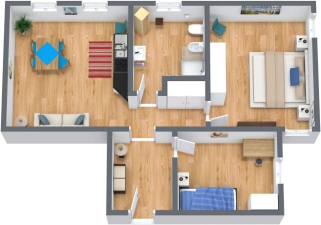 Planimetría Apartamento N.200
