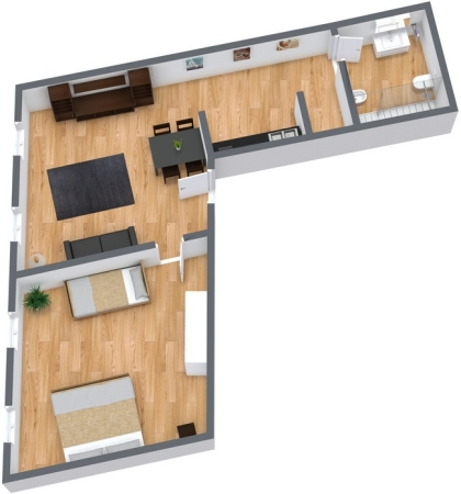 Planimetría Apartamento N.21