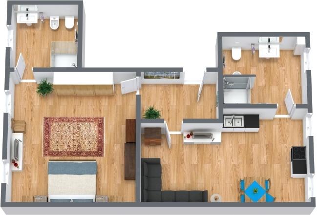 Planimetría Apartamento N.218