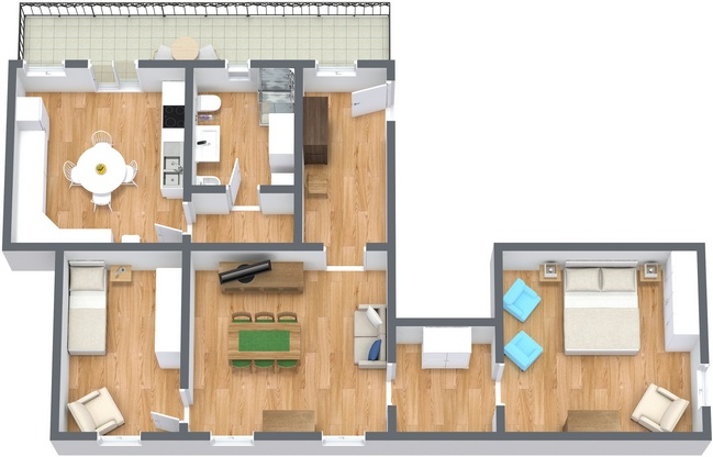 Planimetría Apartamento N.220