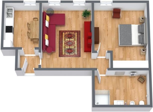 Planimetría Apartamento N.224