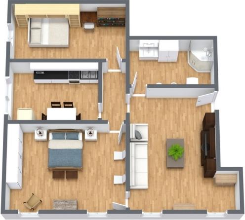 Planimetría Apartamento N.228
