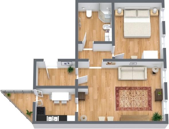 Planimetría Apartamento N.230