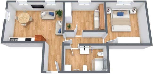 Planimetría Apartamento N.233