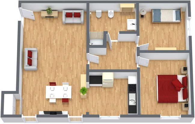 Planimetría Apartamento N.234