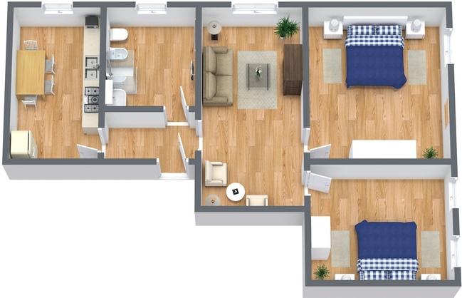 Planimetría Apartamento N.237