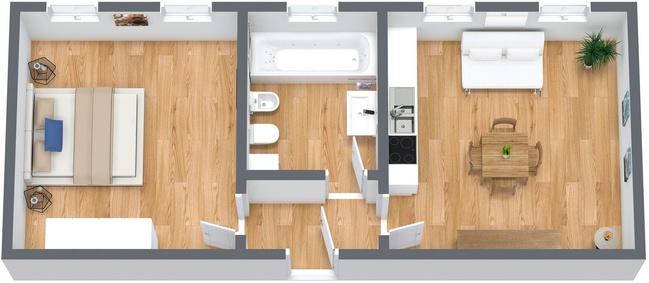Planimetría Apartamento N.238