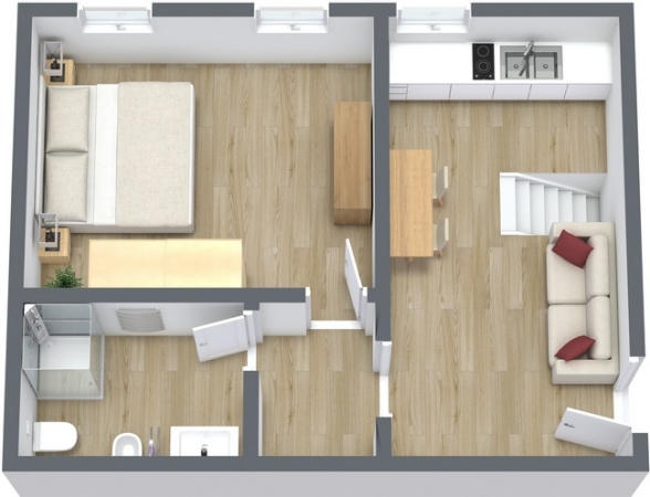 Planimetría Apartamento N.24